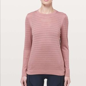 Lululemon Breeze By long sleeve in 'Quicksand'